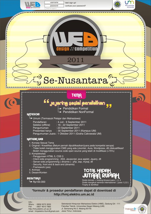 Web Design Competition 2011