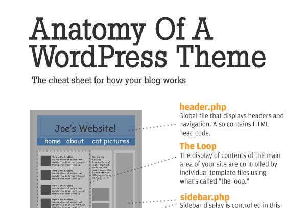 Anatomy of a WordPressTheme