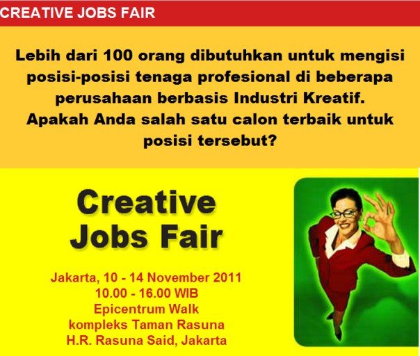 Creative Jobs Fair 2011