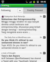 WordPress Reader