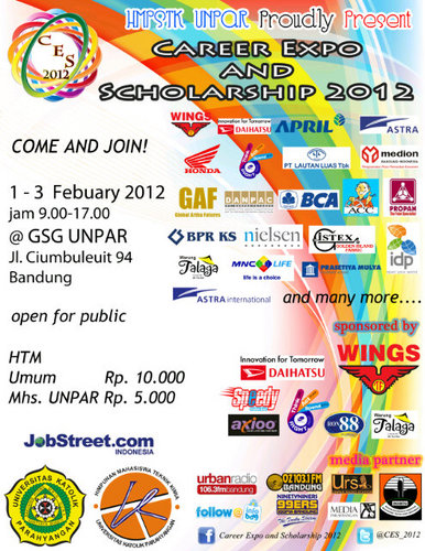 Career Expo and Scholarship 2012 (CES2012)