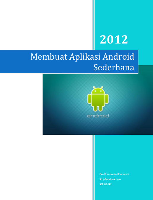 Membuat Aplikasi AndroidSederhana