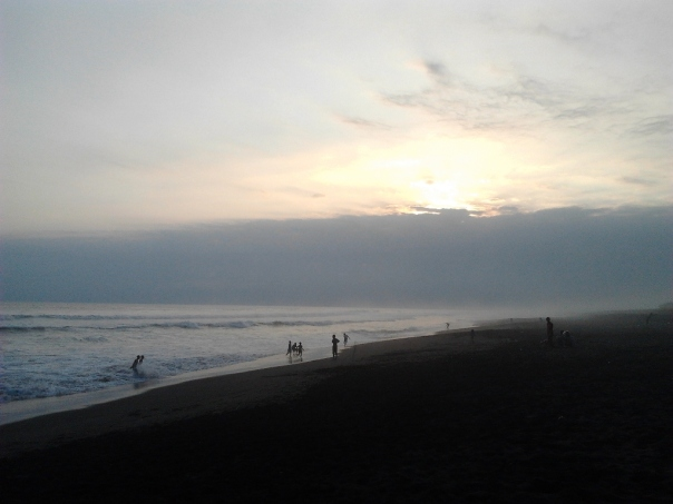 Sunset Pantai Jatimalang
