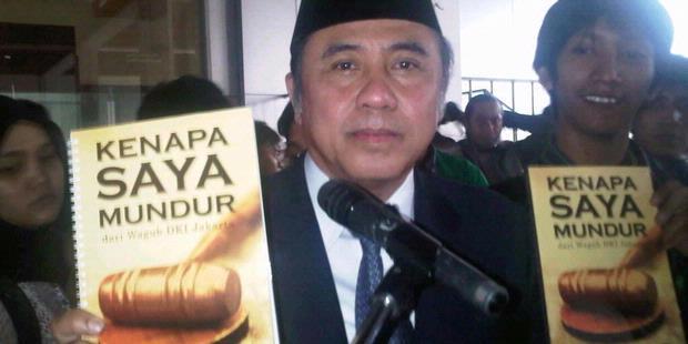 Membaca Fakta dari Mantan Wakil Gubernur DKIJakarta