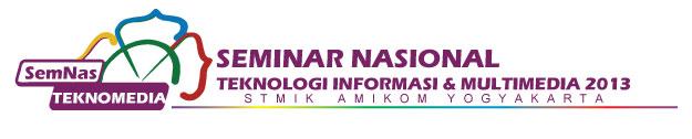 Call For Papers Seminar Nasional Teknologi Informasi & Multimedia 2013 STMIK AMIKOMYogyakarta